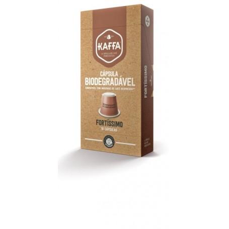 Cápsula de Café de Biodegradável Fortíssimo compatível Máquinas Nespresso*